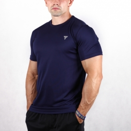 COOL TREC 001 - T-SHIRT/NAVY