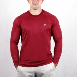 COOL TREC 014 - LONG SLEEVE/MAROON