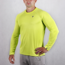 COOL TREC 018 - LONG SLEEVE/BRIGHT GREEN