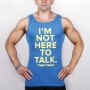 TALK - TANK TOP 006 BLUE