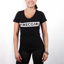 TRECGIRL 003 - T-SHIRT/BLACK