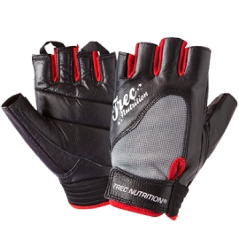 WOMEN'S FITNESS GLOVES - BLACK-GRAY