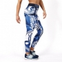 TRECGIRL 009 - LEGGINGS/BLUE-WHITE