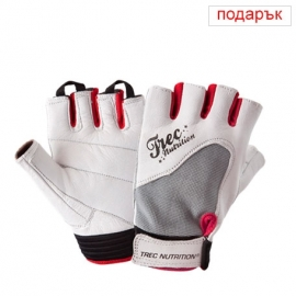WOMEN'S FITNESS GLOVES - WHITE