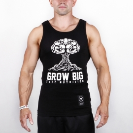 GROW BIG - TANK TOP 003/BLACK
