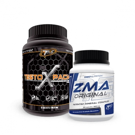 ZMA Original 120 caps + Testo (X) Pack 30 сашета