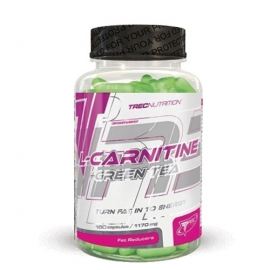 L-CARNITINE + GREEN TEA - 90 капс.