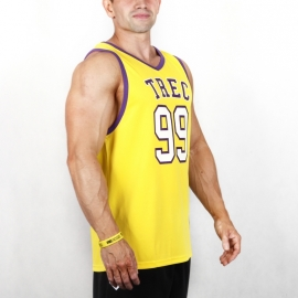 TANK TOP - JERSEY 005 YELLOW
