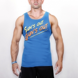 SUNS OUT - TANK TOP 005/BLUE
