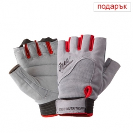 WOMEN'S FITNESS GLOVES - GRAY